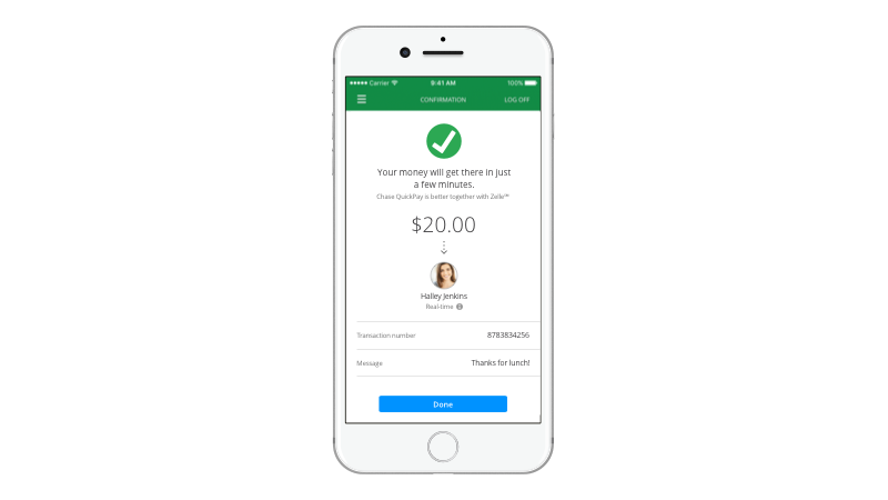 Chase Launches QuickPay with Zelle